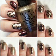 Quatrefoil Nail Art Pictorial - Step by Step   Polished Casual