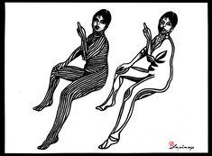 Marian Lupu LUPINO #graphics Graphics, Black, Art, Art Background, Graphic Design, Black People, Kunst, Printmaking, Performing Arts