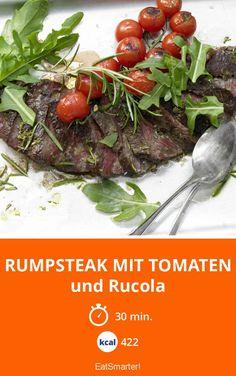 Rumpsteak mit Tomaten - und Rucola - smarter - Kalorien: 422 kcal - Zeit: 30 Min.   eatsmarter.de