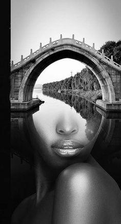 New Photography Arte Collage Double Exposure Ideas Double Exposure Photography, White Photography, Photomontage, Foto Fantasy, Montage Photo, Multiple Exposure, Surrealism Photography, Surreal Art, Creative Photography
