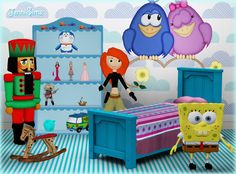 Set Vol 12 decor for kids room by Jenni Sims - Sims 3 Downloads CC Caboodle