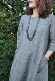 23+ Inspired Photo of Linen Tunic Sewing Pattern Linen Tunic Sewing Pattern New Lily Linen Dress Pattern Sew Tessuti Blog #TrendySewingPatterns
