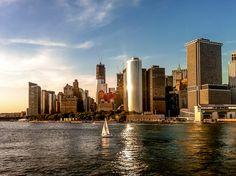Imagen de Lower Manhattan en verano