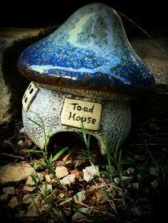 I want this toad abode..