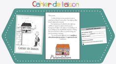 Cahier de liaison : page de garde, justificatifs d'absences et autres documents... Cycle 3, Document, Notebook, Positivity, Education, Reading, Teaching, Training