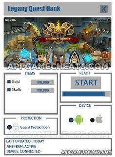 Legacy Quest Hack Tips & Cheats for Gold & Skulls