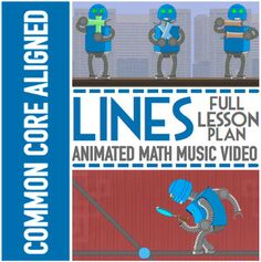 TYPES OF LINES: Worksheets, Game, Animated Video & More | 3rd Grade - 5th Grade | by NUMBEROCK  Get The Entire 3rd Grade Year of Lessons 60% OFF  Get The Entire 4th Grade Year of Lessons 60% OFF   Get The Entire 5th Grade Year of Lessons 60% OFF   GET EVERYTHING WE'VE EVER MADE AT 65% OFF  ----------------------------------------------------Video Comes With Tons Of Engaging Bonus Materials Such As:----------------------------------------------------        Animated music video [HD Video] ...