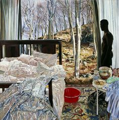 Interior With Red Tub by Deborah Poynton Nude Portrait, Figure Painting, Figurative, Tub, African, Artists, Jewellery, Landscape, Inspired