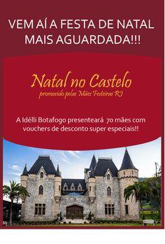 Divulgação do Natal no Castelo para Idélli Botafogo