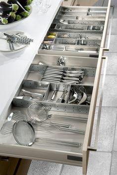 Küchentime, cantidad de espacio incluso en una cocina pequeña.