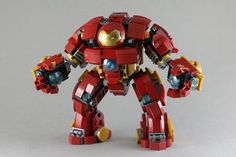 What the LEGO Hulkbuster should have looked like. Hulkbuster-mk2-02