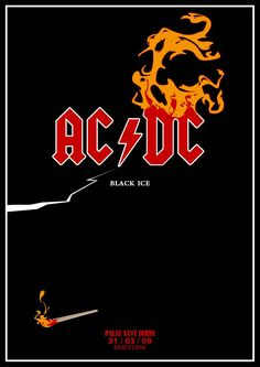 Rock Posters, Band Posters, Music Posters, Bon Scott, Angus Young, Rock And Roll Bands, Rock N Roll, Acdc Back In Black, Hard Rock