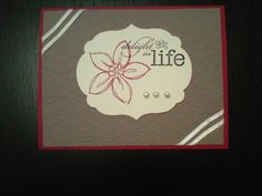 Delight in Life by mms_911 - Cards and Paper Crafts at Splitcoaststampers SU Best of Sale-A-Bration Dec 2013