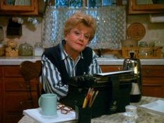 Angela Landsbury as Jessica Flecher in Murder, She Wrote got me into detective stories.
