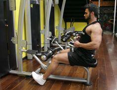 Exercício: Remada Pegada Neutra na Polia Baixa. Grupos musculares: Costas…