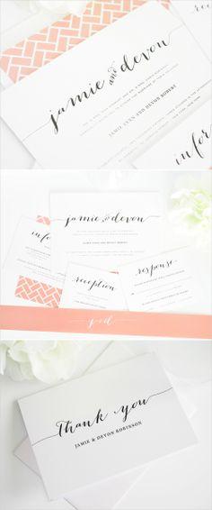 flowing script wedding invitations #invitations #stationery #script http://www.shineweddinginvitations.com/wedding-invitations/flowing-script-wedding-invitations