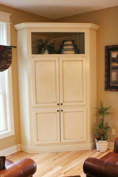 Modern Corner Tv Stands For Flat Screens – Family Room İdeas 2020 Tall Corner Cabinet, Corner Armoire, Corner Tv Cabinets, Tv Armoire, Corner Media Cabinet, Armoire Wardrobe, Modern Corner Tv Stand, Corner Tv Stands, Corner Unit