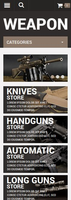 Military Most Popular website inspirations at your coffee break? Browse for more OpenCart #templates! // Regular price: $89 // Sources available: .PSD, .PNG, .PHP, .TPL, .JS #Military #Most Popular #OpenCart