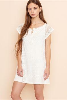 Juliette Crochet Lace Dress