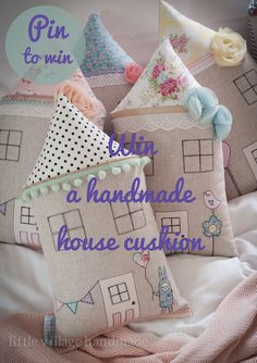 WIN A Gorgeous Handmade House Cushion