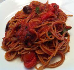 Dairy Free and Delicious: Pasta Puttanesca - Vegan