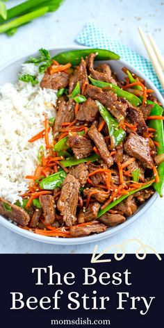 This Beef Stir Fry is literally the best stir fry you'll ever try. It cooks in under 30 minutes, is rich in flavors and reheats amazingly well. Beef Recipes, Cooking Recipes, Brocolli, Healthy Food, Healthy Recipes, Beef Stir Fry, Yummy Appetizers, Cauliflower, Spinach