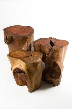Tryo Design  móveis e luminárias com design feitas a partir de árvores descartadas da natureza !  Contato carol@tryo.com.br  Simone@tryo.com.br