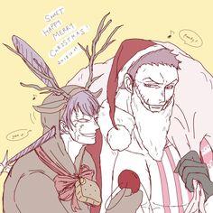 Are they stealing Christmas? Hot Anime Boy, I Love Anime, Me Me Me Anime, Cracker One Piece, Big Mom Pirates, One Piece Ship, One Piece Fanart, Latest Pics, Manga Anime