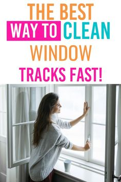 Learn how to clean window tracks fast and the right way. Get rid of any dust, dirt, and debris lingering for a fresh and clean window track. #windows #cleaning #guide #howto #best #easy #windows #home #fresh via @homebyjenn Cleaning Hacks, Cleaning Wipes, Cleaning Routines, Daily Routines, Cleaning Window Tracks, Clean Window, How Do You Clean, All Purpose Cleaners, Wipe Away