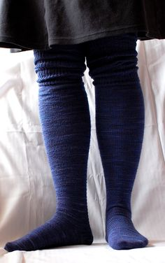 Ravelry: laurachau's over the knee socks