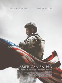 American Sniper est un film de Clint Eastwood avec Bradley Cooper, Sienna Miller. Synopsis : Tireur d'élite des Navy SEAL, Chris Kyle est envoyé en Irak dans un seul but : protéger ses camarades. Sa précision chirurgicale sauve d'innombrables