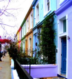 Portobello Road-I love staying in this area when I go to London because the shops are so much fun and the great restaurants and better bakeries.  Love the open market especially on Saturday when all the antique sellers set up their stalls.