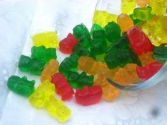 Sweet Gummy Bear Candy Soaps by ajsweetsoap on Etsy, $6.50