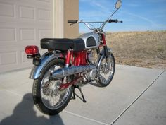 1967 Honda CL90  90cc OHC engine with 4 speed transmission