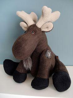 Fleece Menagerie: Moose named Jameel (SOLD)