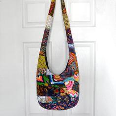 Crossbody Bag Hobo Bag Sling Bag Hippie Purse Hobo by 2LeftHandz