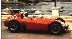 1956 Eugenio Castellotti - Lancia Ferrari D50