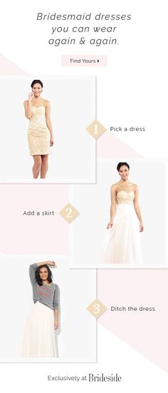 Getting married? Brideside carries beautiful long bridesmaid dresses you can't get anywhere else. Shop our exclusive bridesmaid dresses online now! Neutral Bridesmaid Dresses, Bridesmaid Dresses Online, Wedding Bridesmaids, Bridal Dresses, Beautiful Wedding Gowns, Beautiful Dresses, Nice Dresses, Amazing Dresses, Wedding Stuff