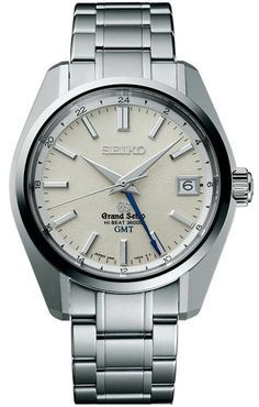 Grand Seiko Watch Mechanical Hi Beat GMT #bezel-fixed #bracelet-strap-steel #brand-grand-seiko #case-depth-14mm #case-material-steel #case-width-40-mm #clasp-type-hidden-folding-clasp #date-yes #delivery-timescale-call-us #dial-colour-silver #gender-mens #gmt-yes #luxury #movement-manual #official-stockist-for-grand-seiko-watches #packaging-grand-seiko-watch-packaging #subcat-grand-seiko-gmt #subcat-hi-beat #supplier-model-no-sbgj001 #warranty-grand-seiko-official-2-year-guarantee…