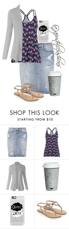 """""""Apostolic Fashions #1122"""" by apostolicfashions on Polyvore featuring Current/Elliott, maurices, Fitz and Floyd, Casetify and Accessorize"""