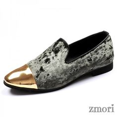How to Shop for Comfort in Mens Footwear Grey Loafers, Loafers Outfit, Loafers Men, Rock Boots, Shoe Boots, King Shoes, Mens Grey Shoes, Velvet Shoes, Comfy Shoes