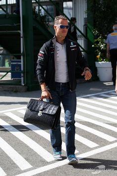 Michael Schumacher. Mercedes GP F1 Team