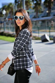 VivaLuxury - Fashion Blog by Annabelle Fleur: MAD FOR PLAID