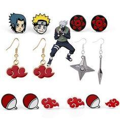 Naruto Earrings Costume Collection, Naruto, Costumes, Earrings, Ear Rings, Stud Earrings, Dress Up Clothes, Fancy Dress, Ear Piercings