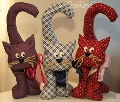 {tutorial} pattern for stuffed cat (black Halloween cat?):