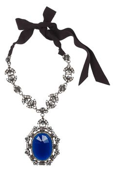 Lanvin|Swarovski crystal necklace |NET-A-PORTER.COM