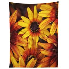 Shannon Clark Sunshine Petals Tapestry | DENY Designs Home Accessories