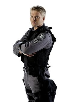 The character of Sam Braddock from the tv show Flashpoint <3