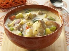 Anything Goes Sausage Soup Recipe