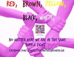 Everyone is excepted for who they are, we are all in the same fight so we must Unite...